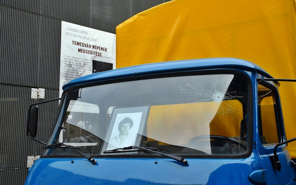 Tóth Sándor teherautója